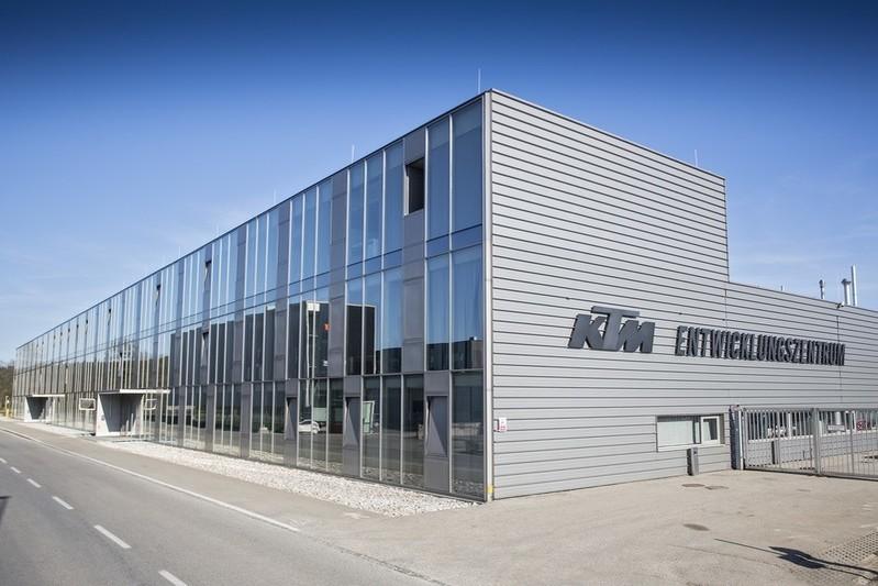 KTM R&D building