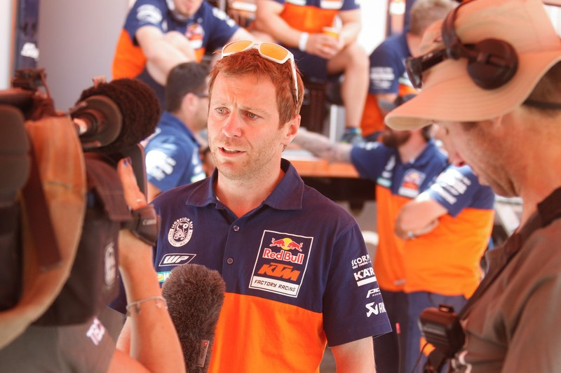 Stefan Huber Dakar 2016