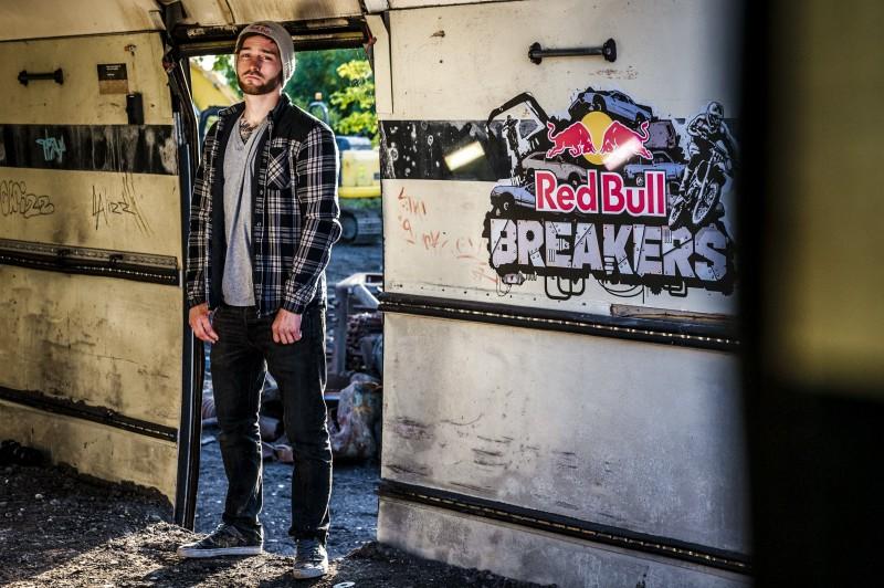 Red Bull Breakers Elliott Banks-Browne Rotherham 2015