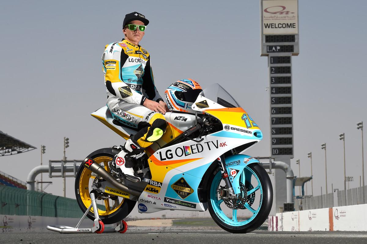 Gabriel Rodrigo (ARG) #19 KTM RC 250 GP