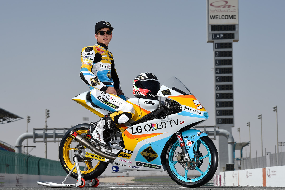 Juanfran Guevara (ESP) #56 KTM RC 250 GP