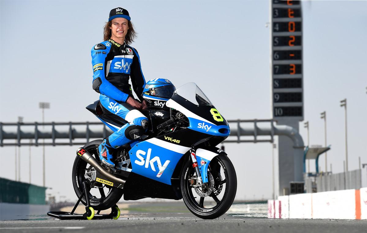 Nicolò Bulega (ITA) #8 KTM RC 250 GP