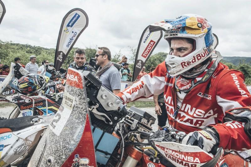 Ivan Cervantes (ESP) KTM 450 RALLY Dakar 2016 © Red Bull Content Pool/Flavien Duhamel