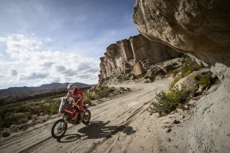 Ivan Cervantes (ESP) KTM 450 RALLY Dakar 2016 © Red Bull Content Pool/Marcelo Maragni