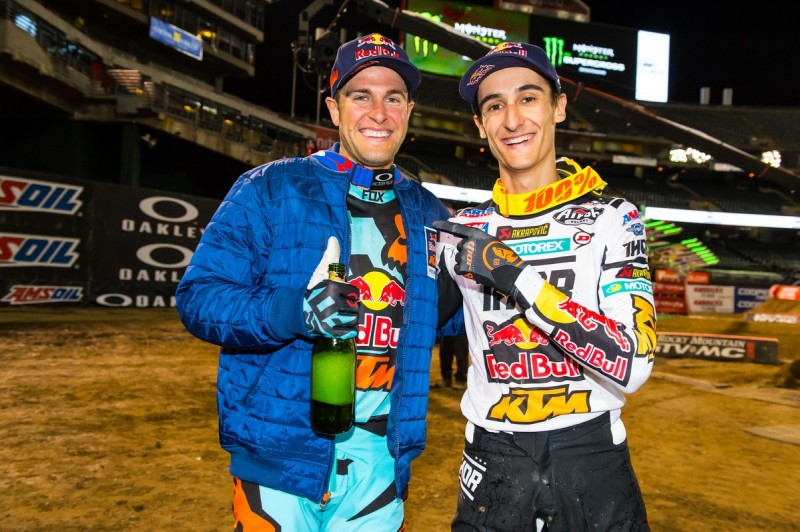 Ryan Dungey & Marvin Musquin Oakland (USA) 2016