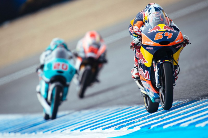 Bo Bendsneyder (NED) KTM RC 250 GP Jerez (ESP)