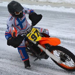 Ice Road Racing Konnevesi (FIN) © Peter Ziegler