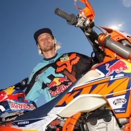 Taddy Blazusiak: Recovery, the new Enduro range and Erzberg