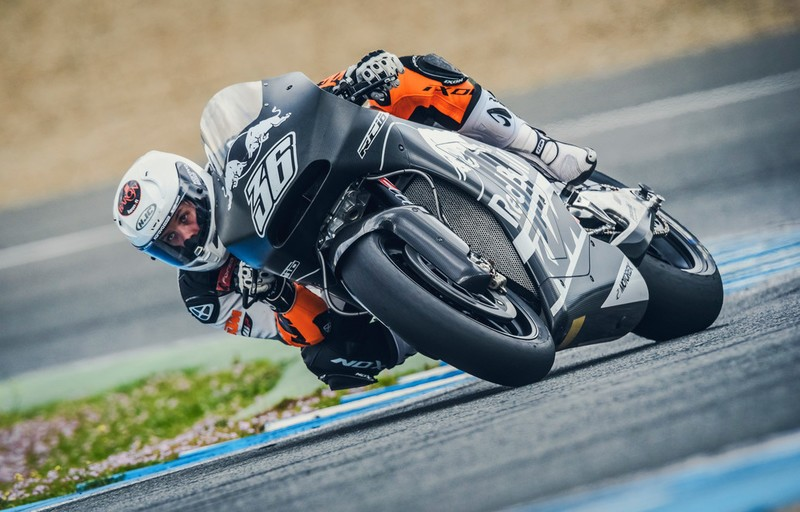 Mika Kallio (FIN) KTM RC16 Jerez (ESP) 2016