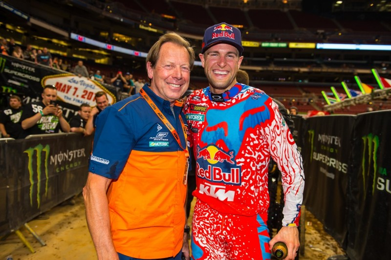 Roger De Coster (BEL) & Ryan Dungey (USA) St. Louis (USA) 2016