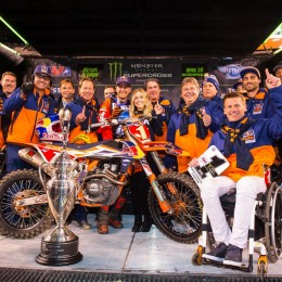 Back to back: 450 Supercross World Champion