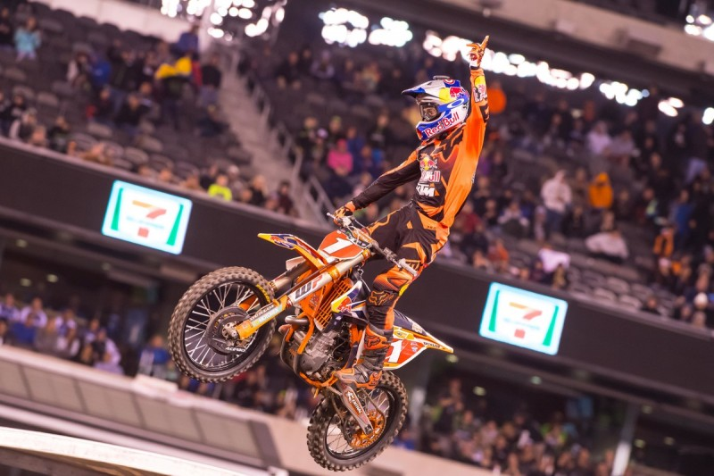 Ryan Dungey (USA) KTM 450 SX-F East Rutherford (USA) 2016