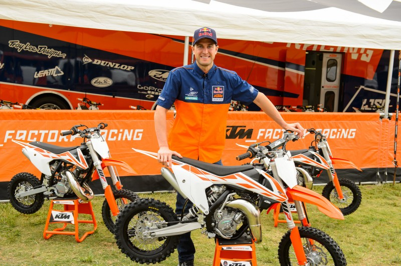 Ryan Dungey & KTM SX Mini line-up MY2017