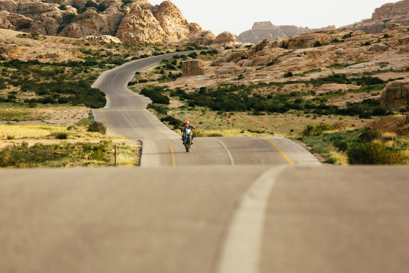 Jordanian mountain roads every biker dream