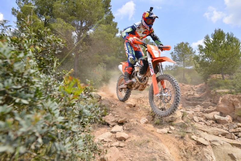 Taddy Blazusiak (POL) KTM EXC Launch (ESP) 2016