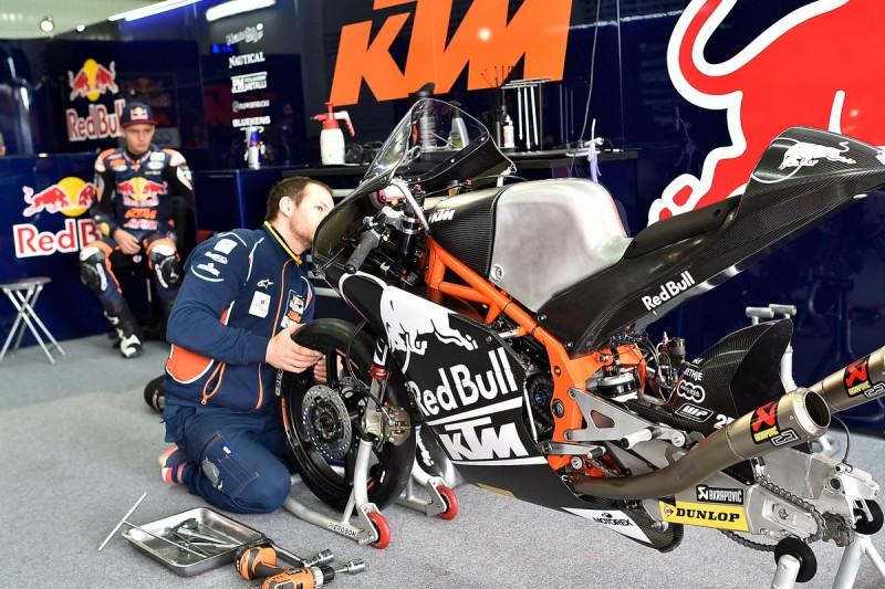 Bo Bendsneyder´s KTM RC250 GP Test Valencia (ESP) 2016