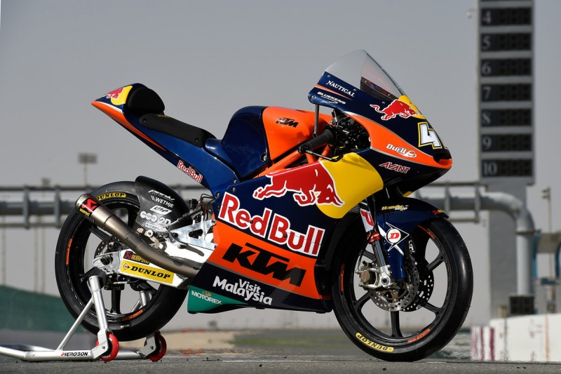Brad Binder´s KTM RC250 GP Doha (QAT) 2016