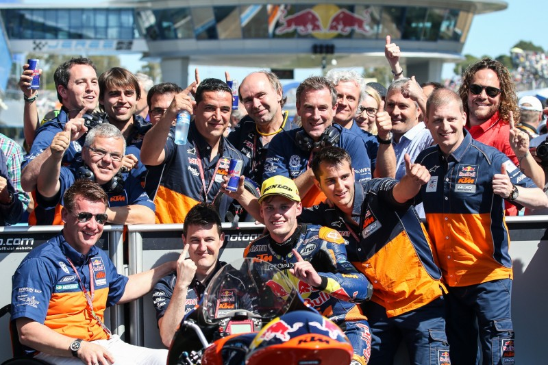 Brad Binder (RSA) & Red Bull KTM Ajo Moto3 Team 2016
