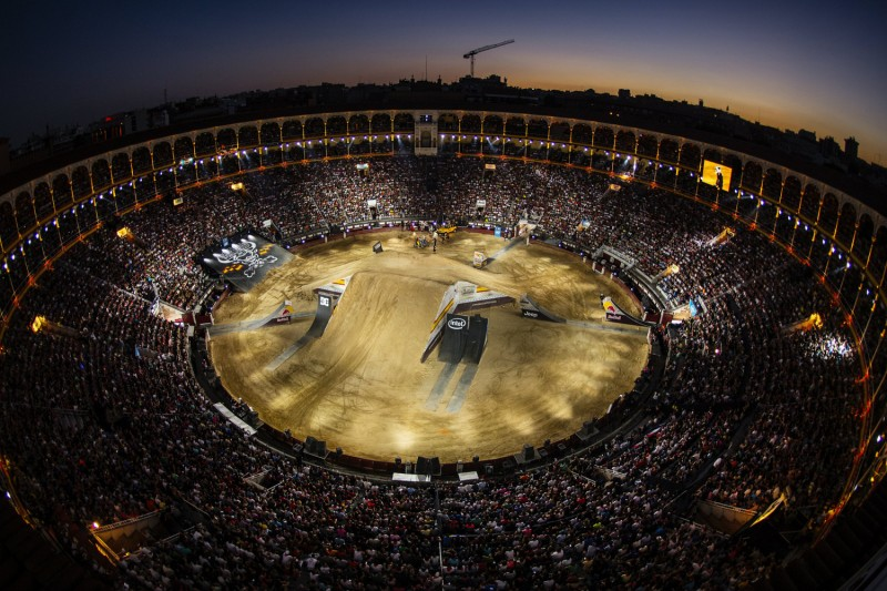 Las Ventas is the home of FMX ©Joerg Mitter - Red Bull Content Pool