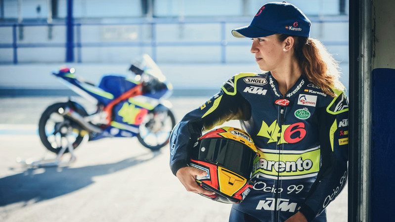 Maria Herrera (ESP) KTM RC250 GP 2016
