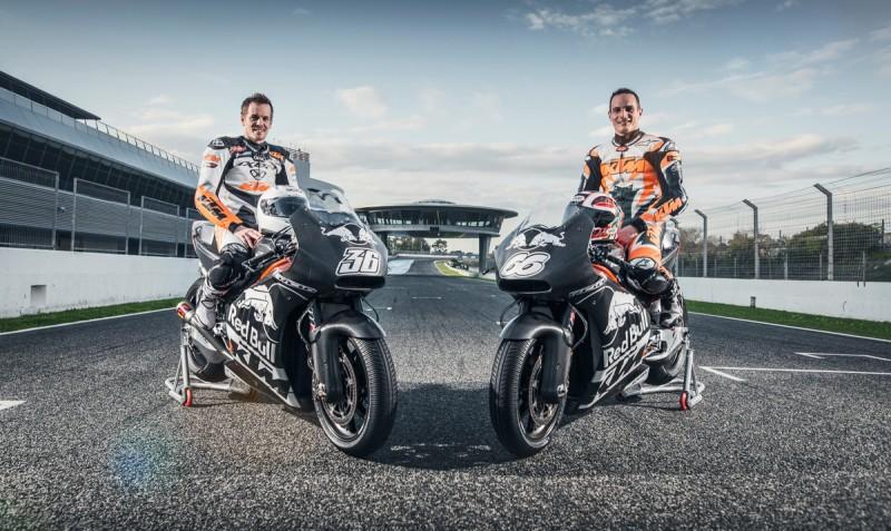 Mika Kallio (FIN) & Alex Hofmann (GER) KTM RC16 Jerez (ESP) 2016