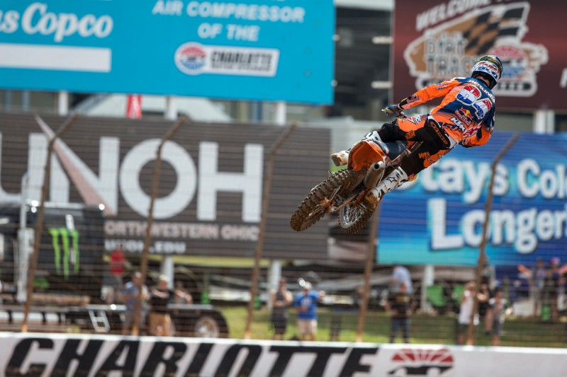 Jeffrey Herlings (NED) KTM 250 SX-F Charlotte Motor Speedway (USA) 2016