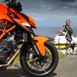 KTM 1290 SUPER DUKE R & Carl Fogarty