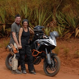 Tom & Barbara Matzek KTM 1190 ADVENTURE R