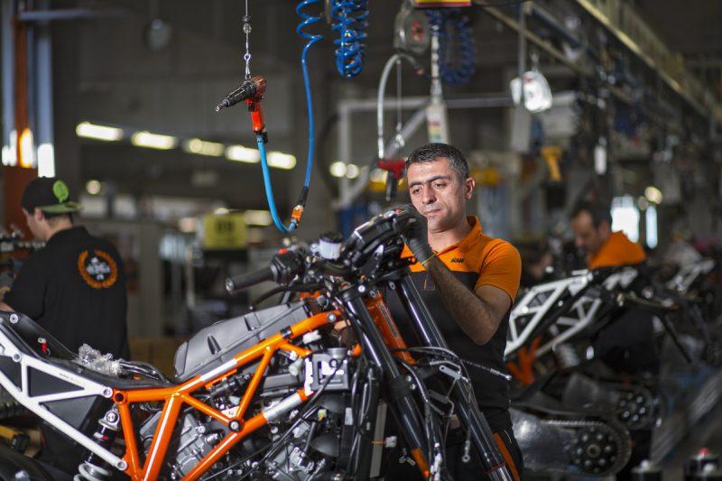KTM assembly