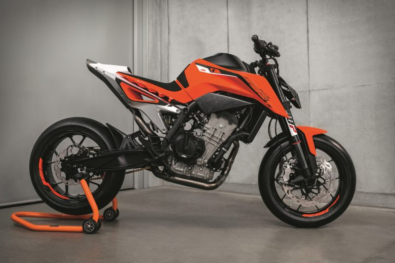 KTM 790 DUKE Prototype