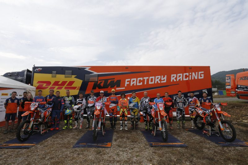 International media KTM Enduro Factory Bike Test (FRA) 2016