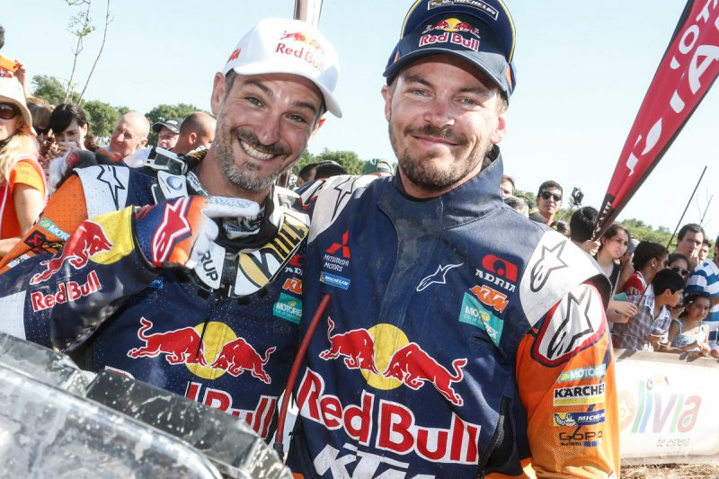 Jordi Viladoms (ESP) & Toby Price (AUS) Dakar 2016