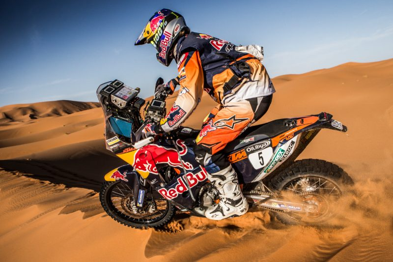 Toby Price (AUS) KTM 450 RALLY Morocco 2016