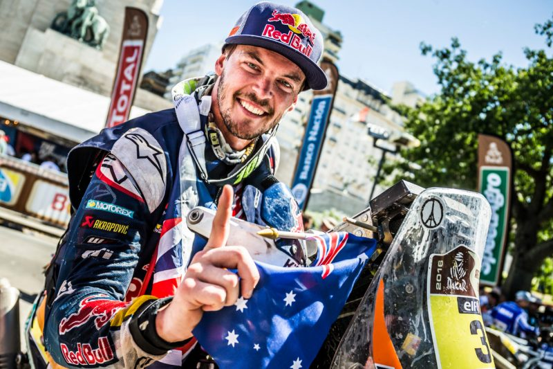 Toby Price (AUS) KTM 450 RALLY Dakar 2016