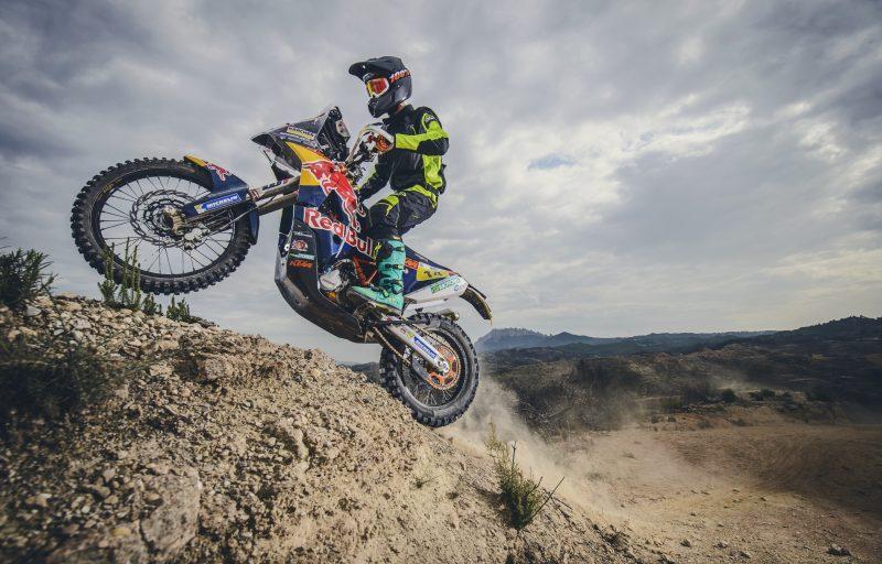 Jonathan Pearson (GBR) KTM 450 RALLY Igualada (ESP) 2016