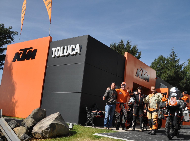 Besuch bei KTM in Toluca | Visiting KTM in Toluca