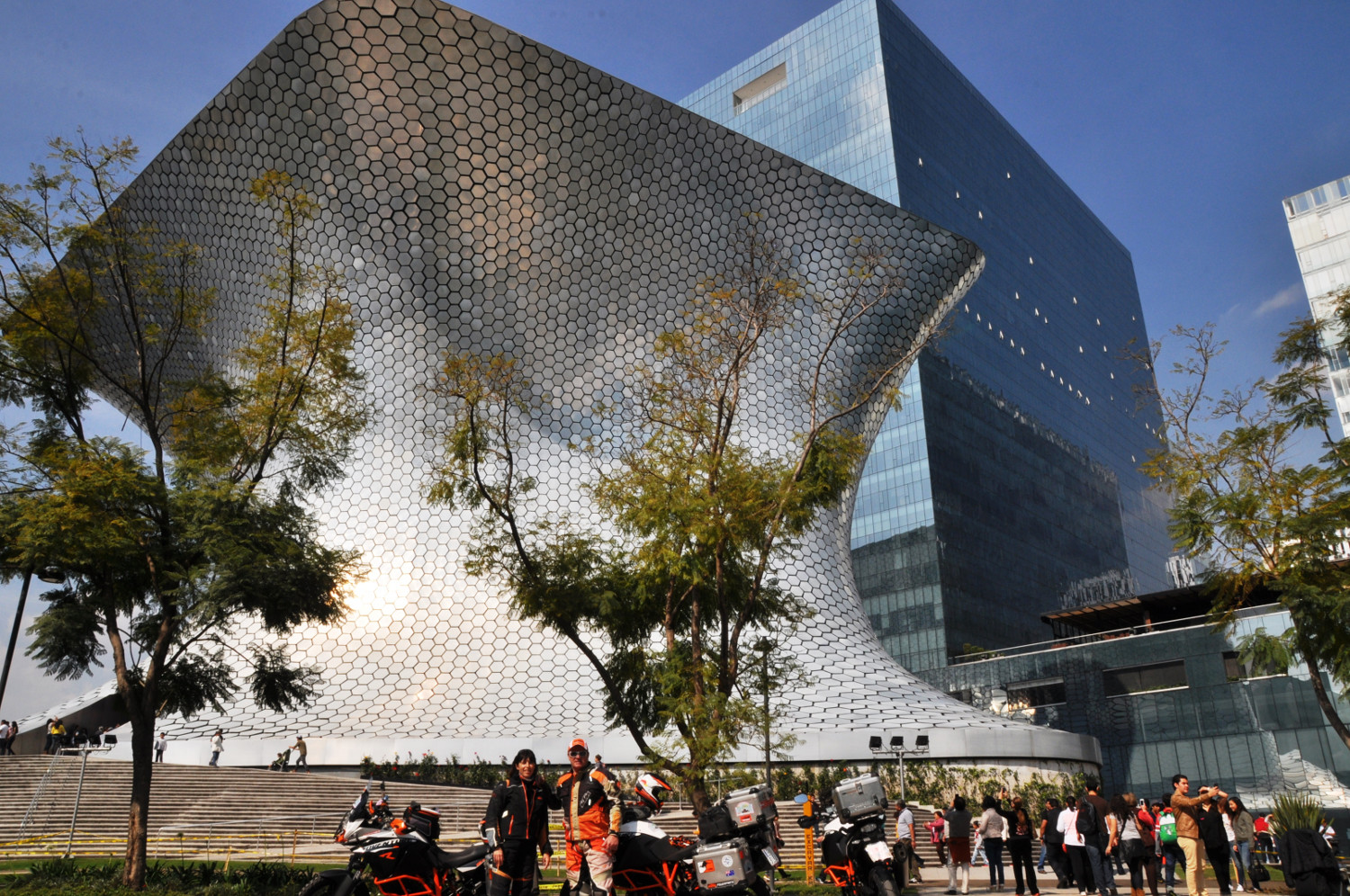 Im Zentrum von Mexiko City: Kunstmuseum Soumaya | Mexico City center: Museo Soumaya art museum