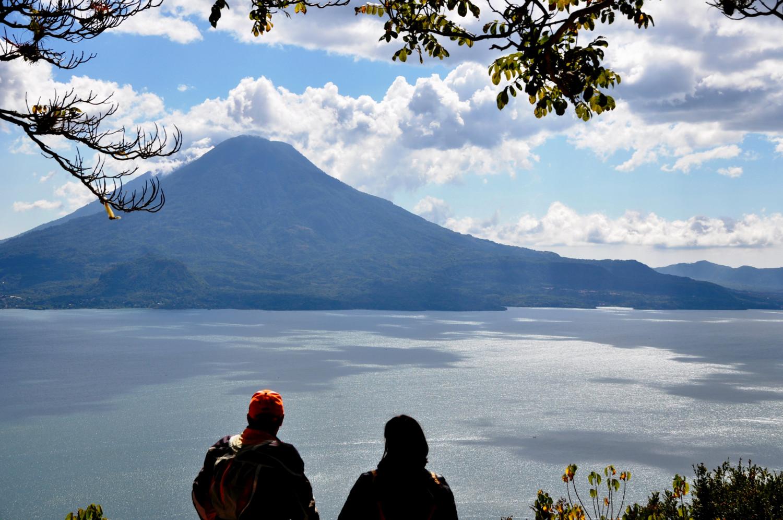 Blick auf den Vulkan Tolimán | View to the Tolimán volcano