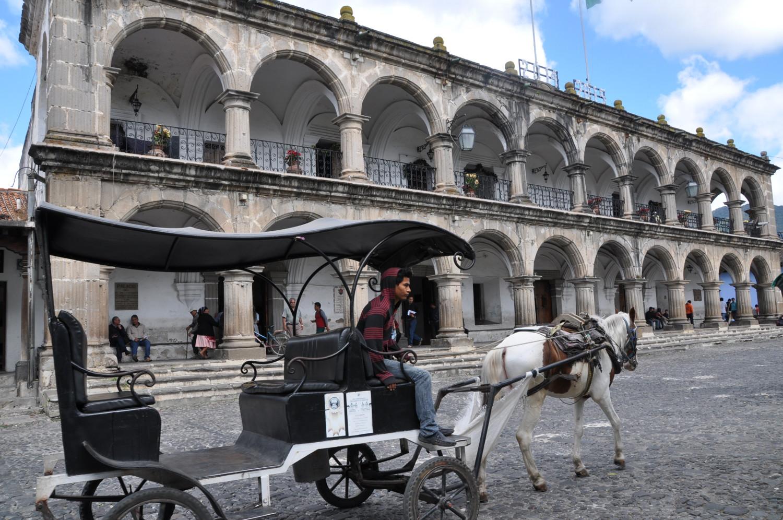 Hauptplatz von Antigua Guatemala | Main square in Antigua Guatemala