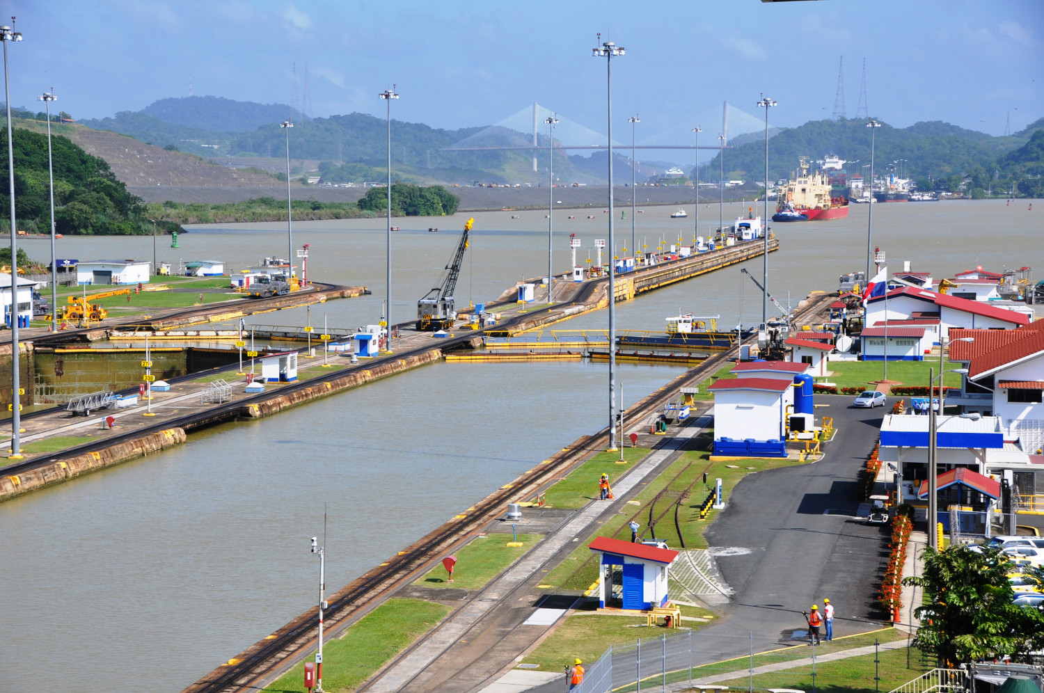Faszinierendes Bauwunder: der Panama Kanal und seine Schleusen | A fascinating wonder of engineering: the Panama Canal and its locks