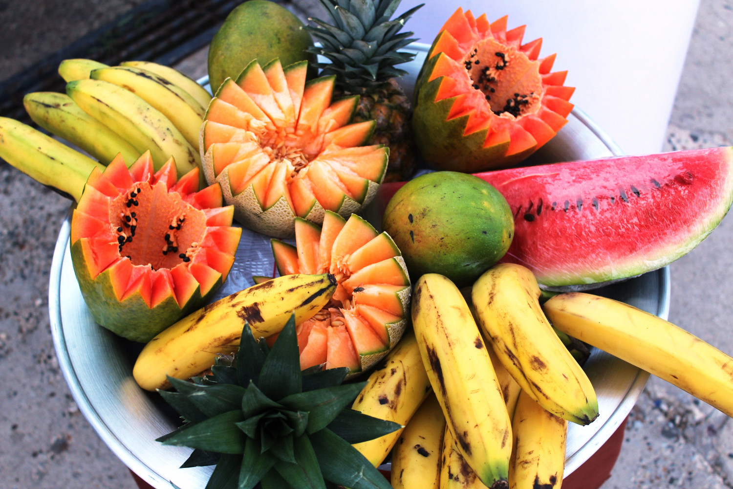Schluss mit Fleisch: Bei der Hitze an der Karibikküste ist Obst angesagt | No more meat eating: fruit is the order of the day in the heat of the Caribbean coast