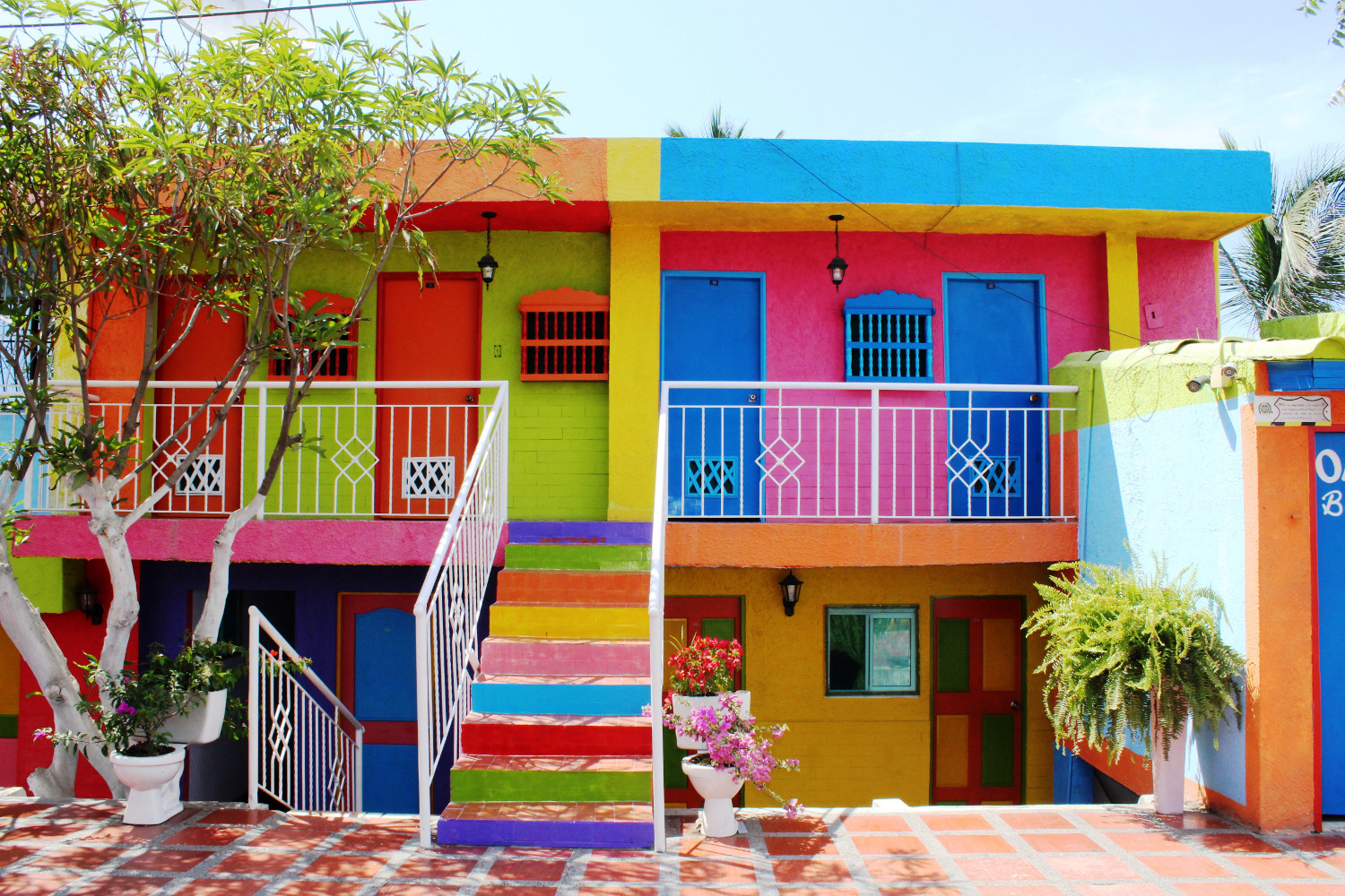 Karibik = Mut zur Farbe | Caribbean = boldness with color