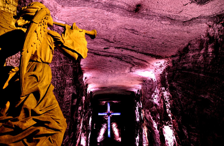 Salzkathedrale von Zipaquirá: 100% Salz, 100% unterirdisch | Salt cathedral in Zipaquirá: 100% salt, 100% underground