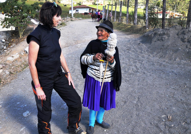 Wenn ich nur Quechua sprechen könnte! | If only I could speak Quechua!