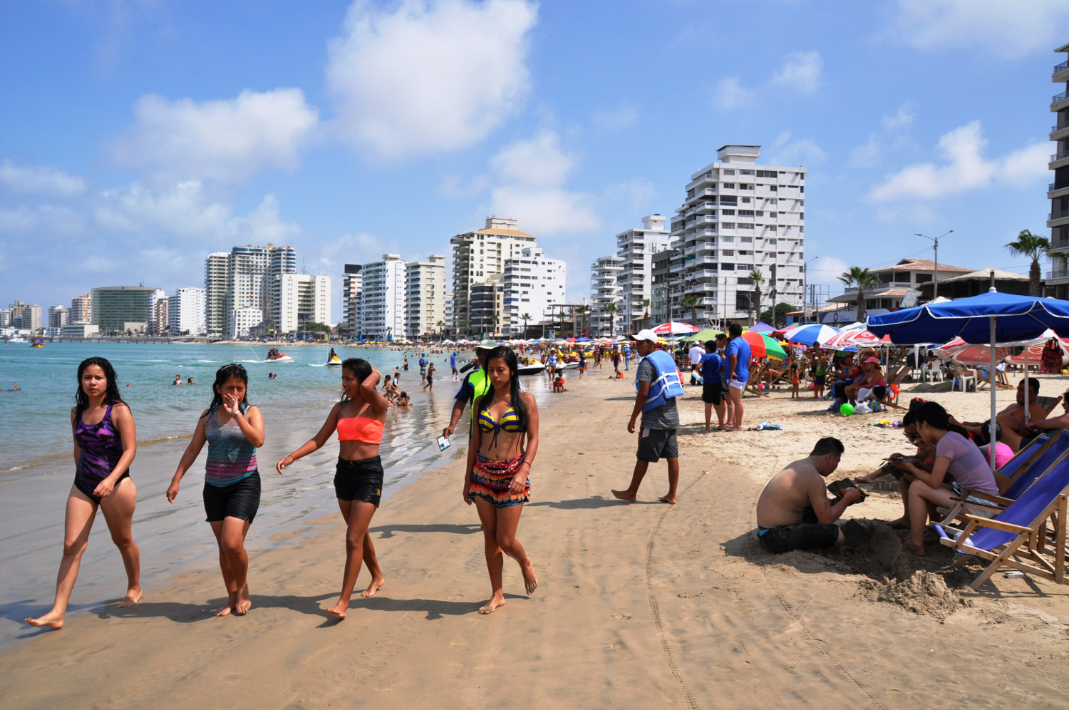 Die warme Seite von Ecuador: Strandleben in Guayaquil | The hot side of Ecuador: beach life in Guayaquil