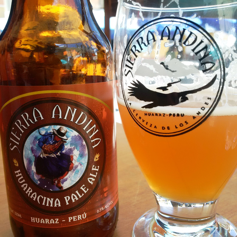 Lokales Bier schmeckt immer am besten: Microbrauerei Sierra Andina | Local beer always tastes best: Sierra Andina microbrewery