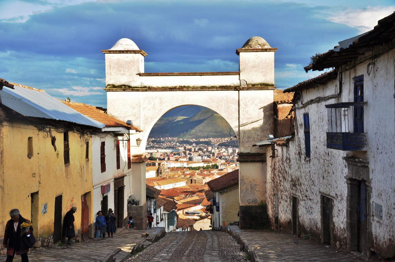 Cusco im Visier   Cusco in sight
