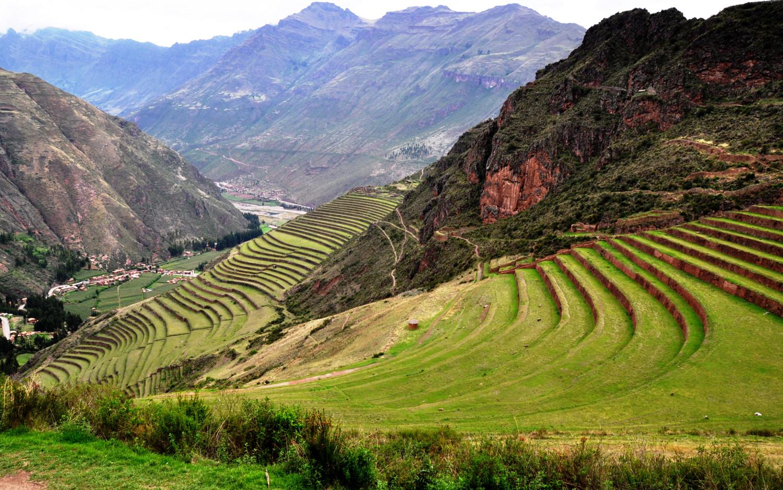 Die hohe Kunst der Landwirtschaft: Terrassenanbau   The great art of agriculture: terracing