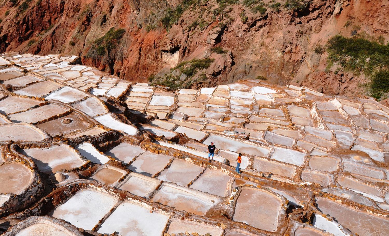 Salineras de Maras: Salzgewinnung wie zu Zeiten der Inkas   Salineras de Maras: salt extraction just as it was during the Inca Empire