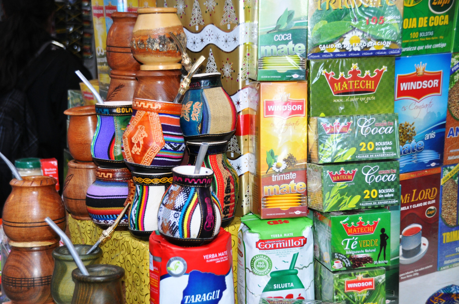 Bolivianische Tradition: Alles Coca oder was?   Bolivian tradition: anyone for coca?